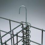 Låsepinner benyttes for å låse flere gabioner sammen